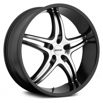 MKW - M113 Gloss Black with Machined Face