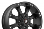 BALLISTIC MORAX Flat Black with Machined Accents