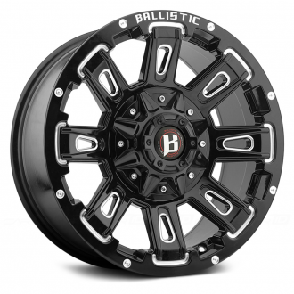 BALLISTIC - RAVAGE Gloss Black with Milled Accents