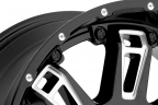 WORX 808BM BEAST II Gloss Black with Milled Accents and Clear Coat