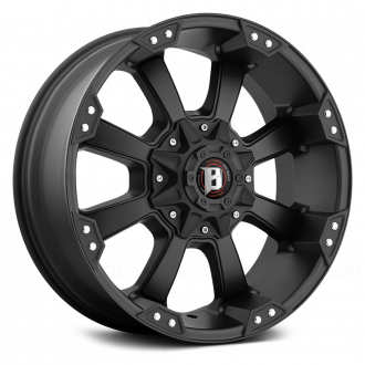 BALLISTIC - MORAX Flat Black with Machined Accents