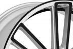 KOKO KUTURE MASSA-7 Silver with Black Anodized Face