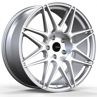 ADVANTI RACING - CLASSE Silver with Machined Face