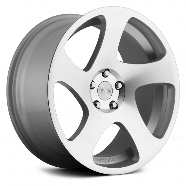 ROTIFORM TMB Silver with Machined Face