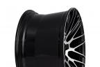 SAVINI BM-13 Black with Machined Face and Stripe