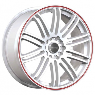 TENZO_RACING - Tenspec Matte White with Red Stripe