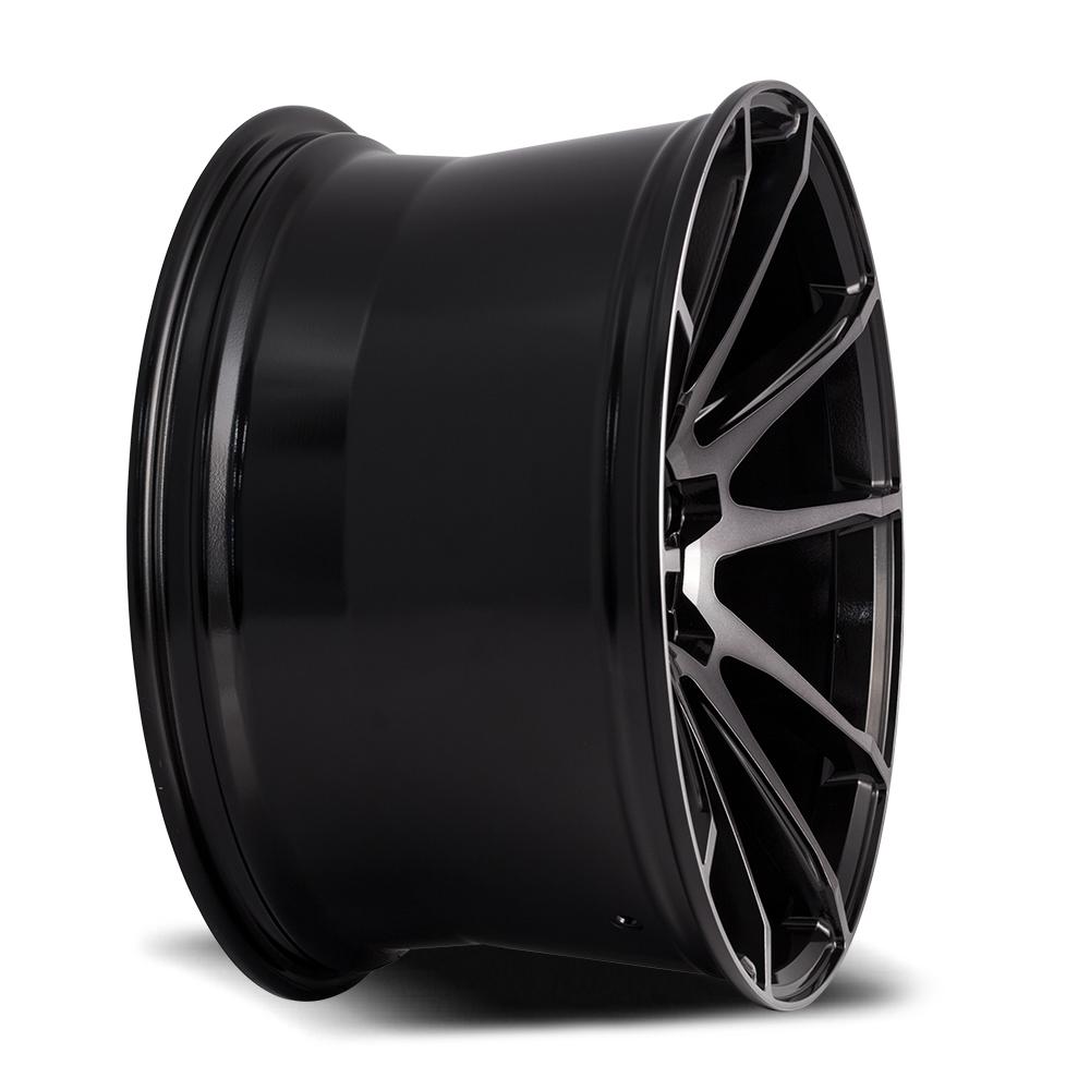 SAVINI BM-12 Gloss Black with Double Dark Tint