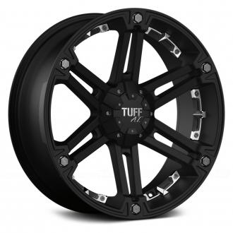 TUFF - T01 Flat Black with Chrome Inserts
