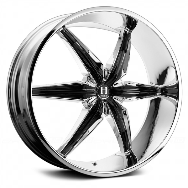 HELO HE866 Chrome with Gloss Black Inserts