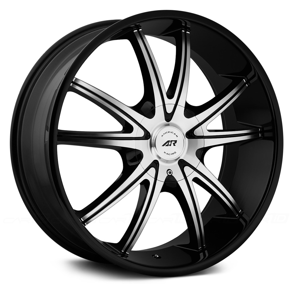 AMERICAN RACING AR897 Gloss Black with Machined Face