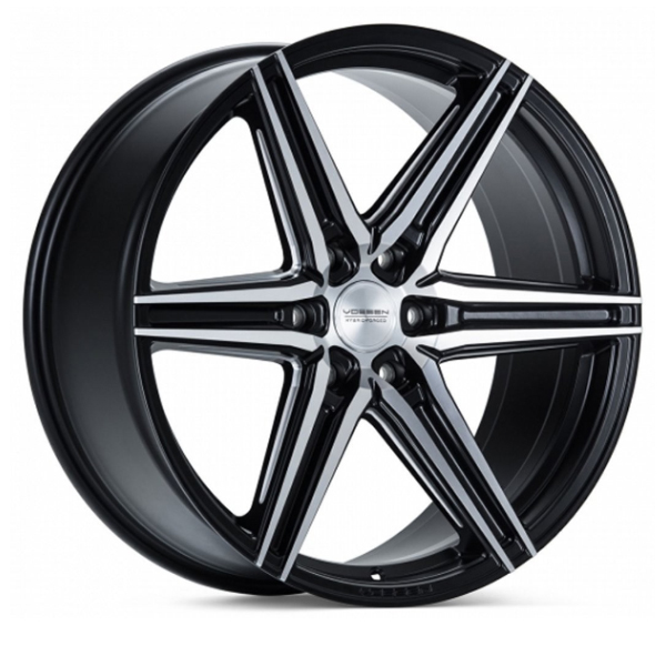 VOSSEN HF6-2 Matte Black Machined