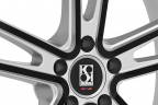 KOKO KUTURE MASSA-5 Silver with Black Anodized Face