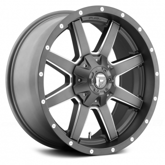 FUEL - MAVERICK 1PC Gunmetal with Milled Accents