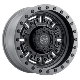 BLACK RHINO - ABRAMS Textured Matte Gunmetal