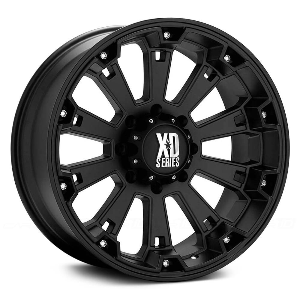 KMC XD SERIES XD800 MISFIT Matte Black