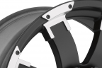 ATX SERIES AX191 SHACKLE Satin Black with Machined Accents