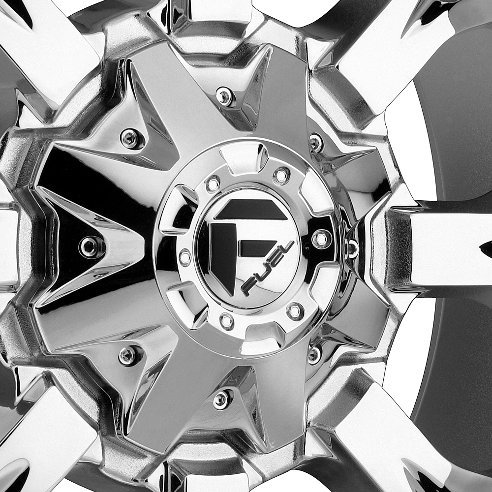 FUEL KRANK Chrome PVD