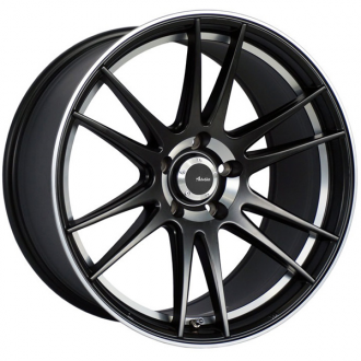 ADVANTI RACING - OPTIMO Matte Black with Machined Lip
