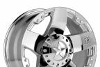 KMC XD SERIES XD775 ROCKSTAR Chrome