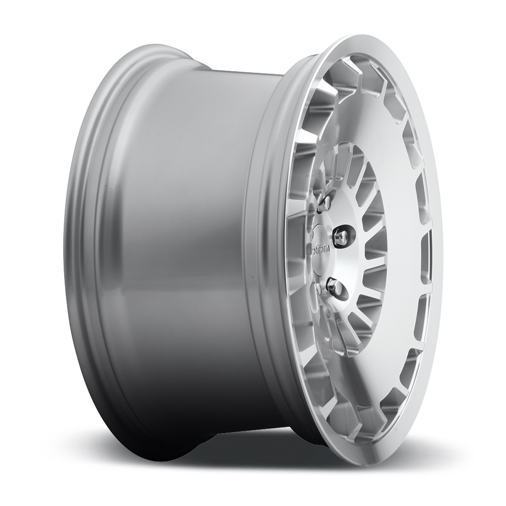 ROTIFORM CCV Silver with Machined Face