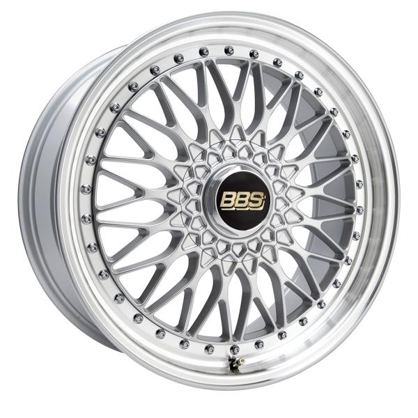 BBS SUPER RS Brilliant Silver