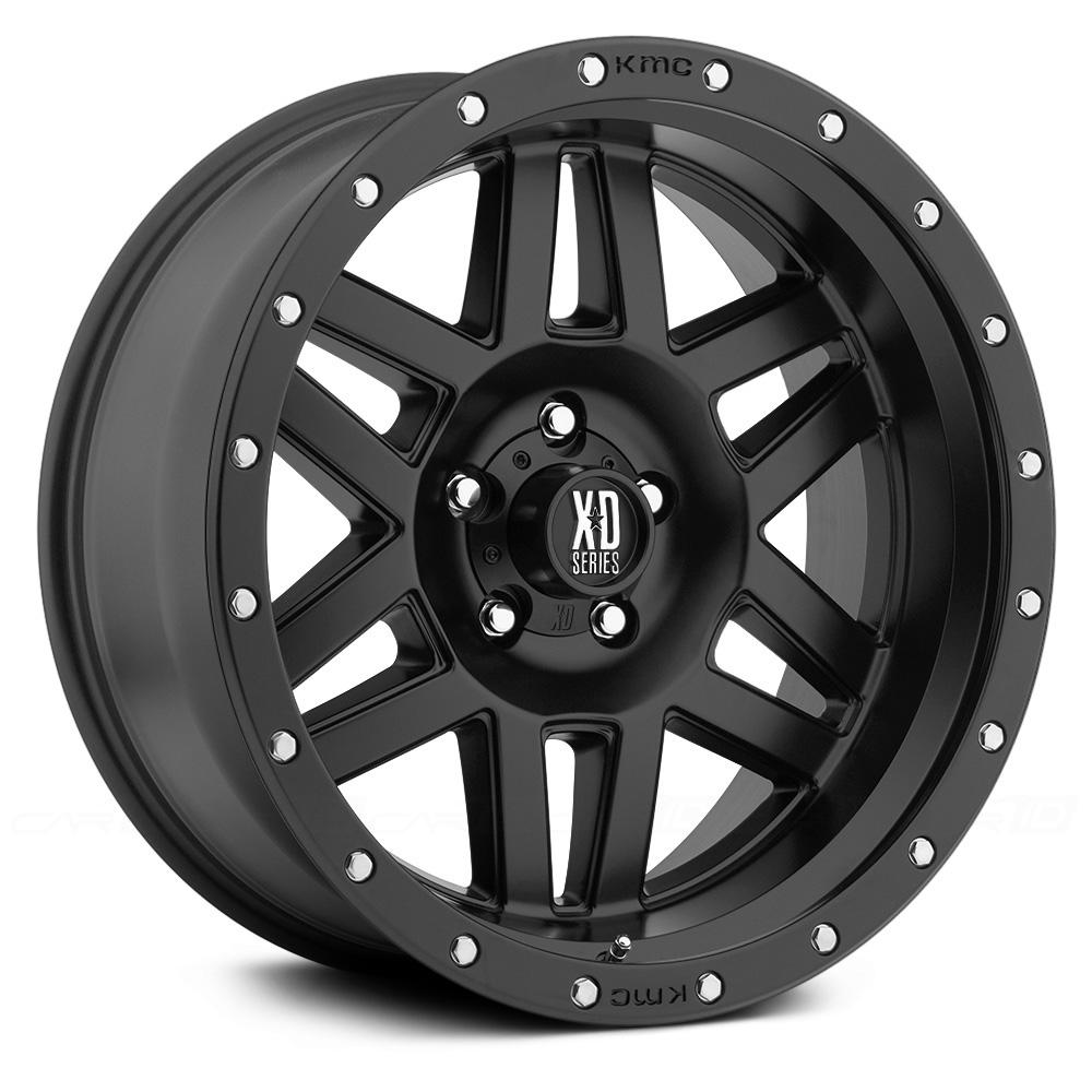 KMC XD SERIES XD128 MACHETE Satin Black