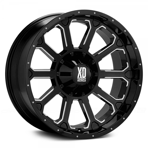 KMC XD SERIES XD806 BOMB Gloss Black