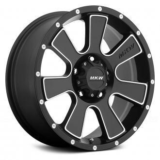 MKW OFF-ROAD - M90 Satin Black with Machined Accents