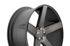 DUB BALLER Black with Machined Face and Dark Tint