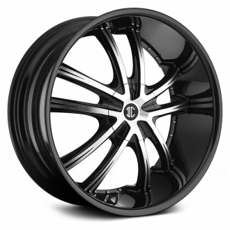 2 CRAVE - No.21 Gloss Black with Machined Face