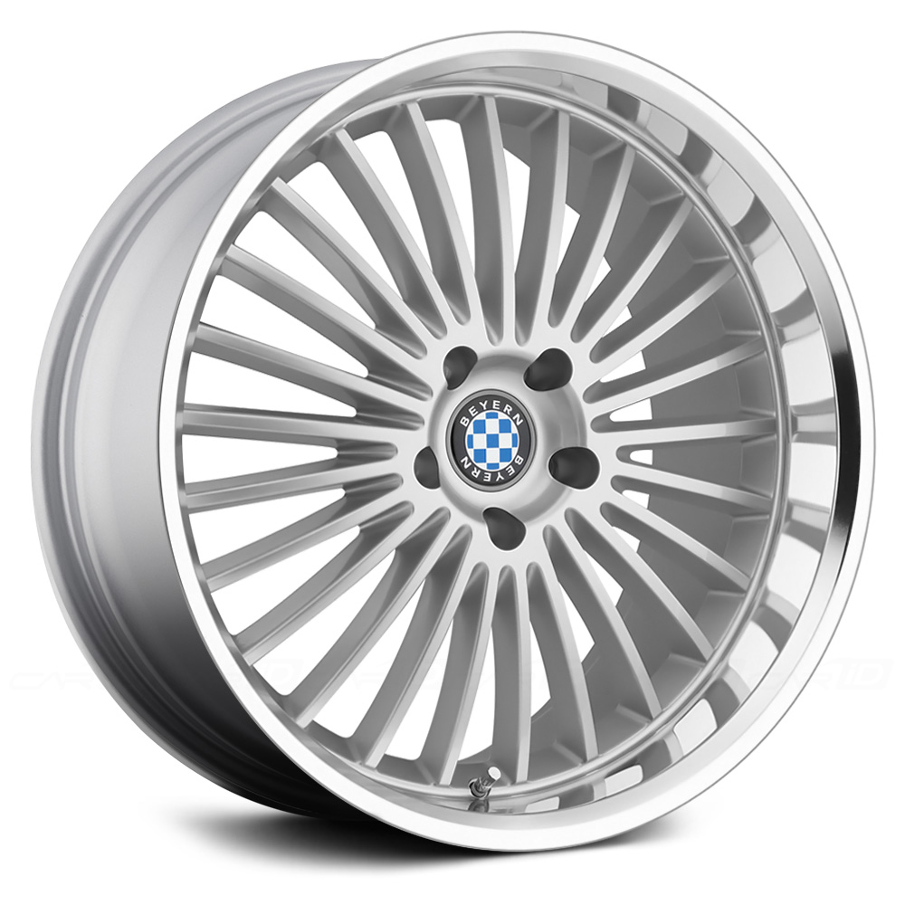 BEYERN MULTI SPOKE Silver with Mirror Machined Cut Lip