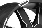 ULTRA PHANTOM 225U Black with Diamond Cut Accents
