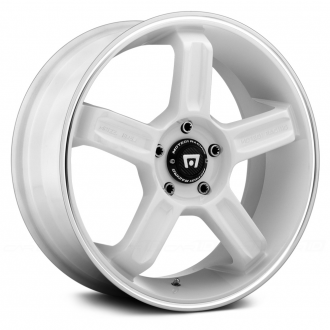 MOTEGI RACING - MR122 White with Machined Groove