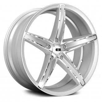 XO LUXURY - ST. THOMAS Chromed Silver