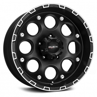 BALLISTIC - ENIGMA Flat Black with Machined Accents