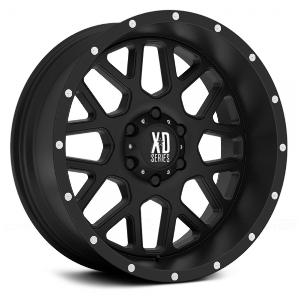 KMC XD SERIES XD820 GRENADE Satin Black