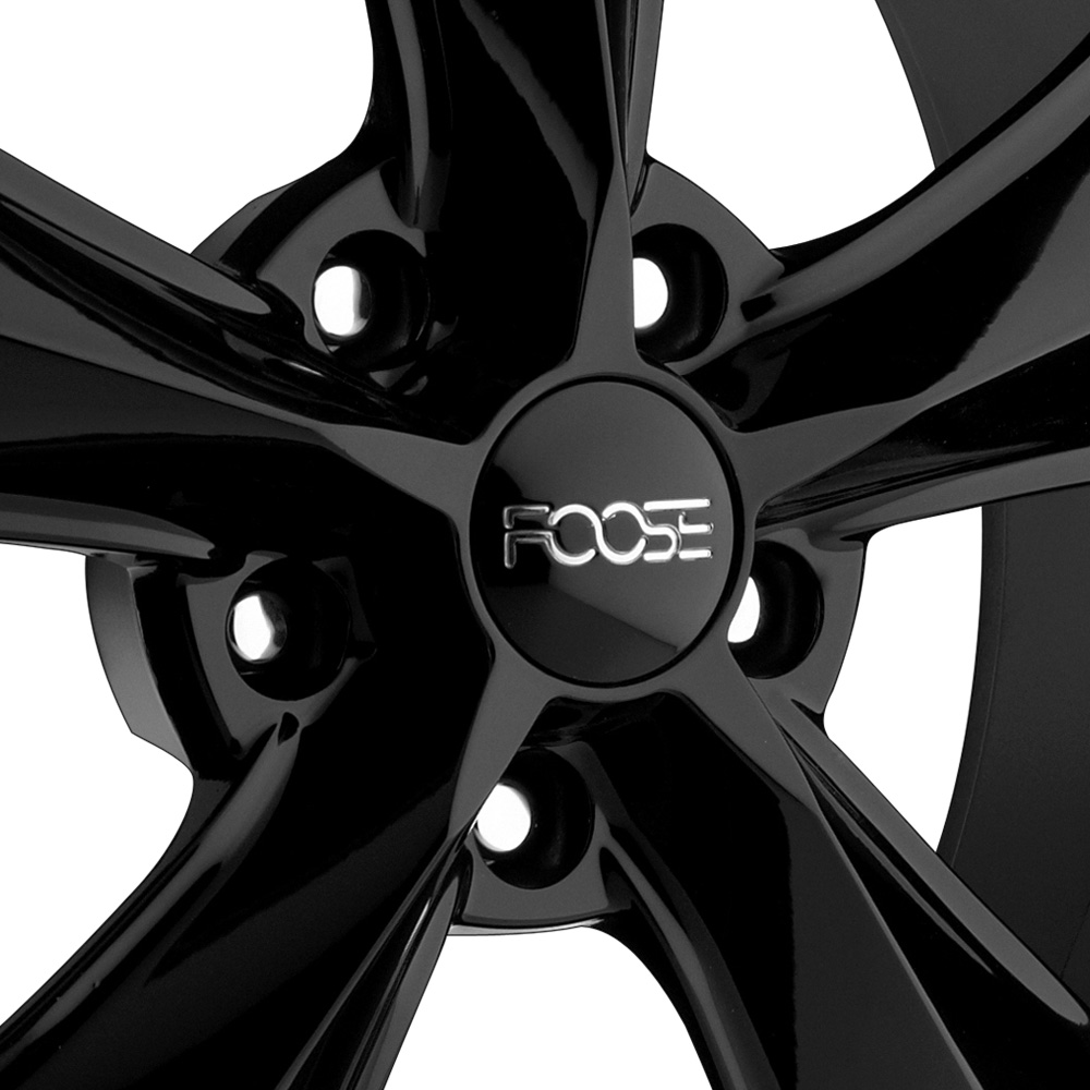 FOOSE LEGEND Black with Machined Lip Stripe