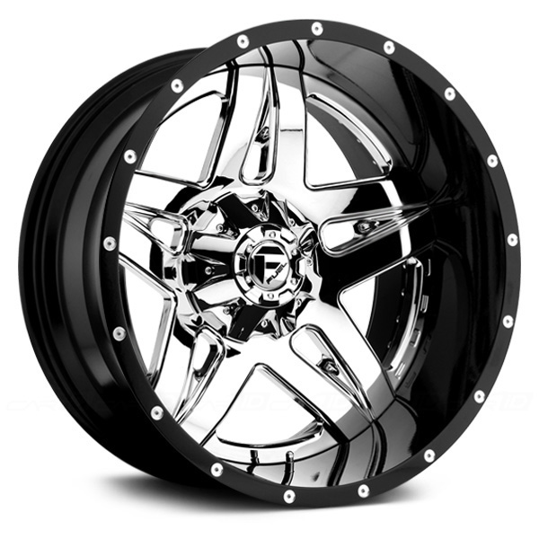 FUEL FULL BLOWN 2PC Gloss Black with Chrome PVD Face