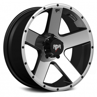 RED DIRT ROAD - RD07 RIOT Satin Black with Machined Face