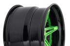 NICHE VERSAILLES Matte Green/Gloss Black Outer
