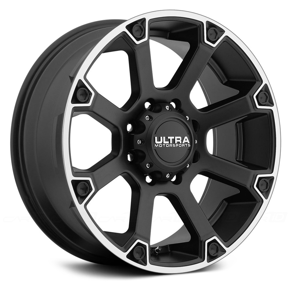 ULTRA SPLINE 245SB Satin Black with Diamond Cut Flange