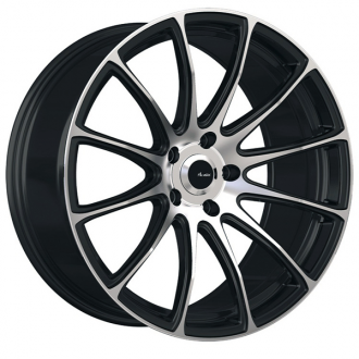 ADVANTI RACING - SVELTO Matte Black with Machined Face