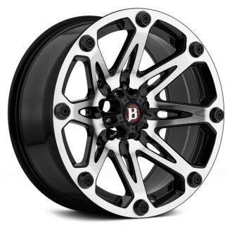 BALLISTIC - JESTER Gloss Black with Machined Face