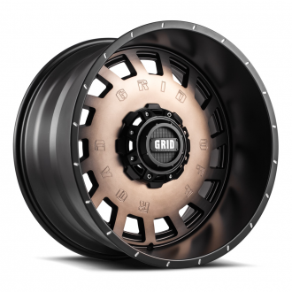 GRID OFF-ROAD - GD-3 Metallic Dust with Matte Black