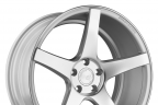 AVANT GARDE M550 Matte Silver with Machined Face