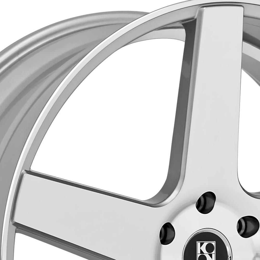 KOKO KUTURE SARDINIA Silver with Machined Face