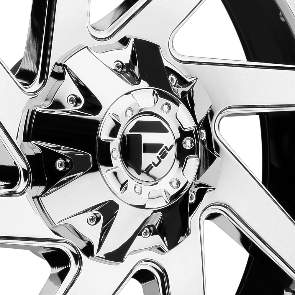 FUEL RENEGADE Black with Chrome Face