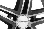 VOSSEN CV5 Matte Graphite Machined
