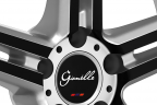 GIANELLE LUCCA Silver with Black Anodized Face