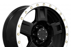 MAMBA M18 Matte Black with Machined Bead Ring